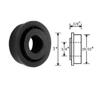 Franklin Machine Products  132-1088 Roller (29/32Od, 3/8Id, Blk )