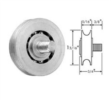 Franklin Machine Products  132-1031 Roller, Concave (1-3/16Od, Zp )