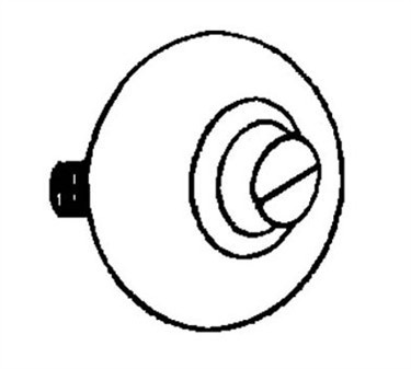 Franklin Machine Products  132-1052 Roller, Convex (1-1/16Od )