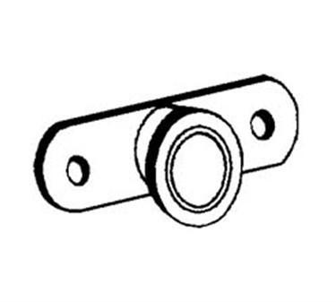 Franklin Machine Products  132-1034 Roller, Drawer Slide (Metal )