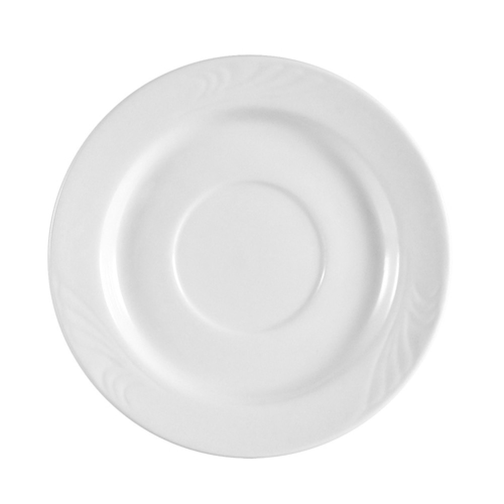 CAC China RSV-2 Roosevelt Embossed Saucer, 6""