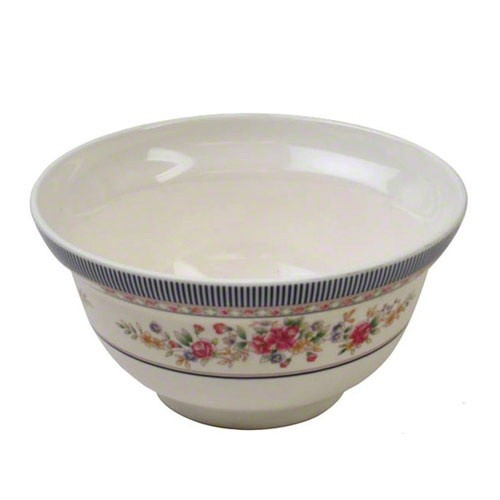 Thunder Group 3201AR Rose Melamine 20 oz. Rice/Noodle Bowl
