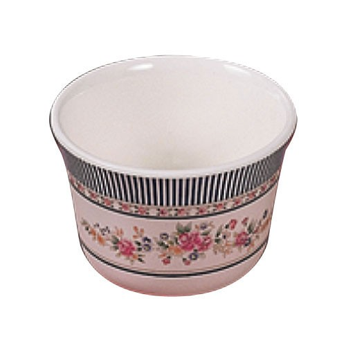Rose Melamine 5 Oz. Tea Cup - 3-1/8
