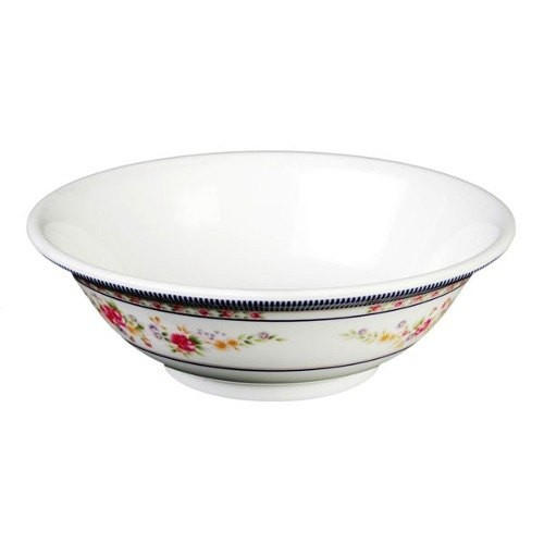 Thunder Group 5085AR Rose Melamine Rimless Bowl 70 oz., 9-3/4""