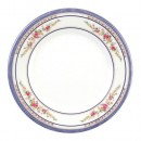 Thunder Group 1008AR Rose Melamine Round Plate 7-7/8""