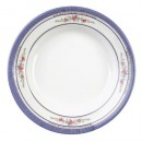 Thunder Group 1108AR Rose Melamine Soup Plate 7 oz.