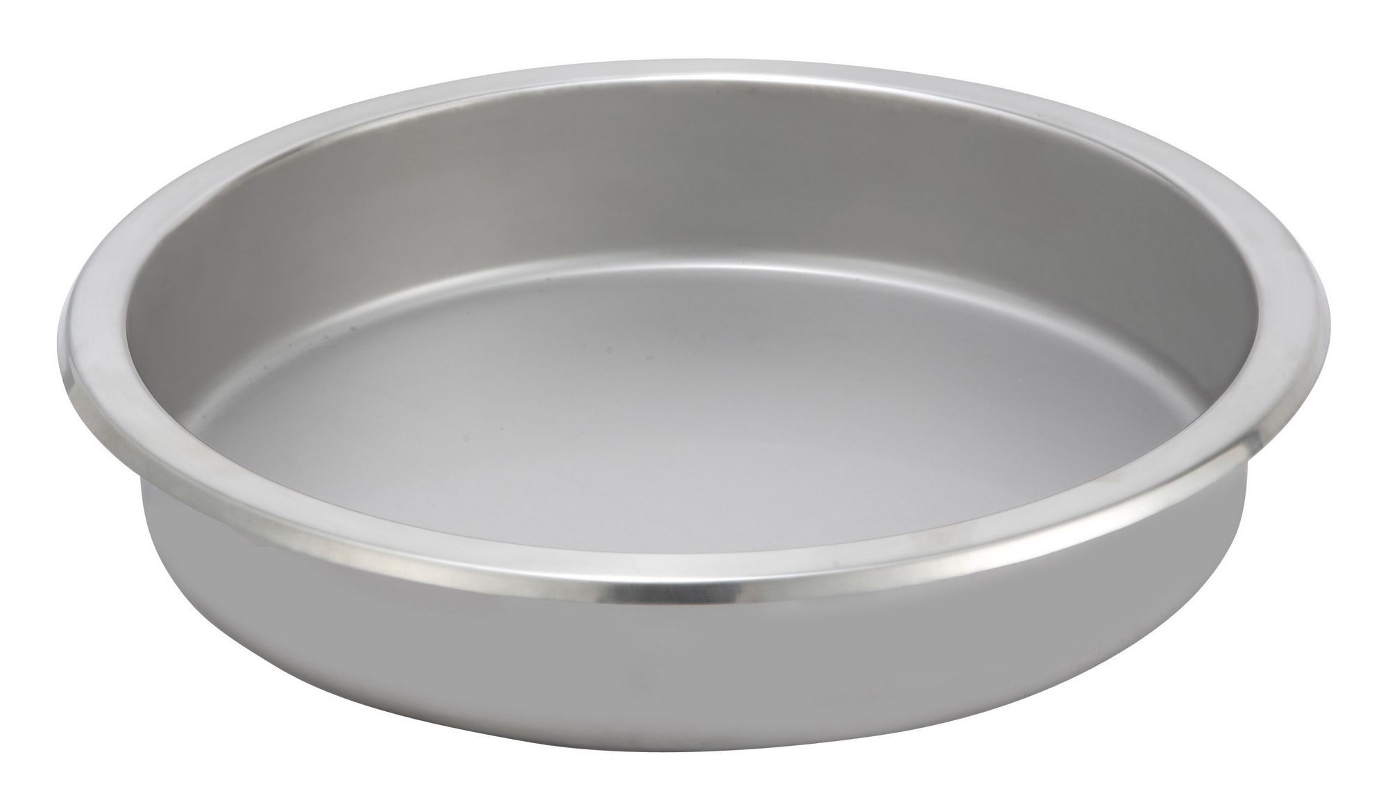 Round 6-Qt. Food Pan For Vintage Chafer (WI-308A WI-309 & WI-602)