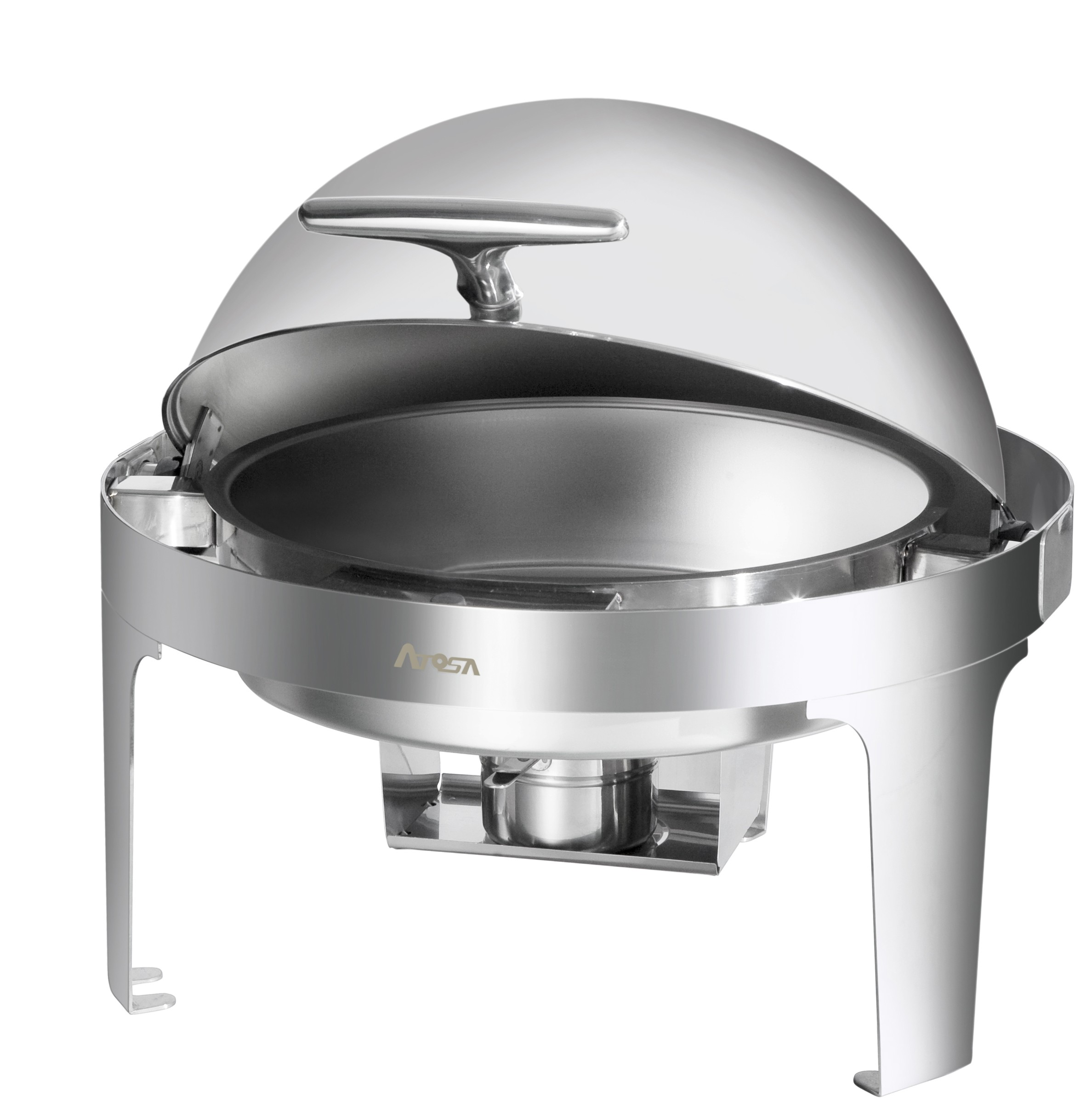 Round 6 Quart Roll Top Chafing Dish