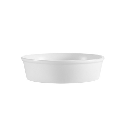 "CAC China RDP-9 Accessories Round Deep Plate, 9"" 48 oz."
