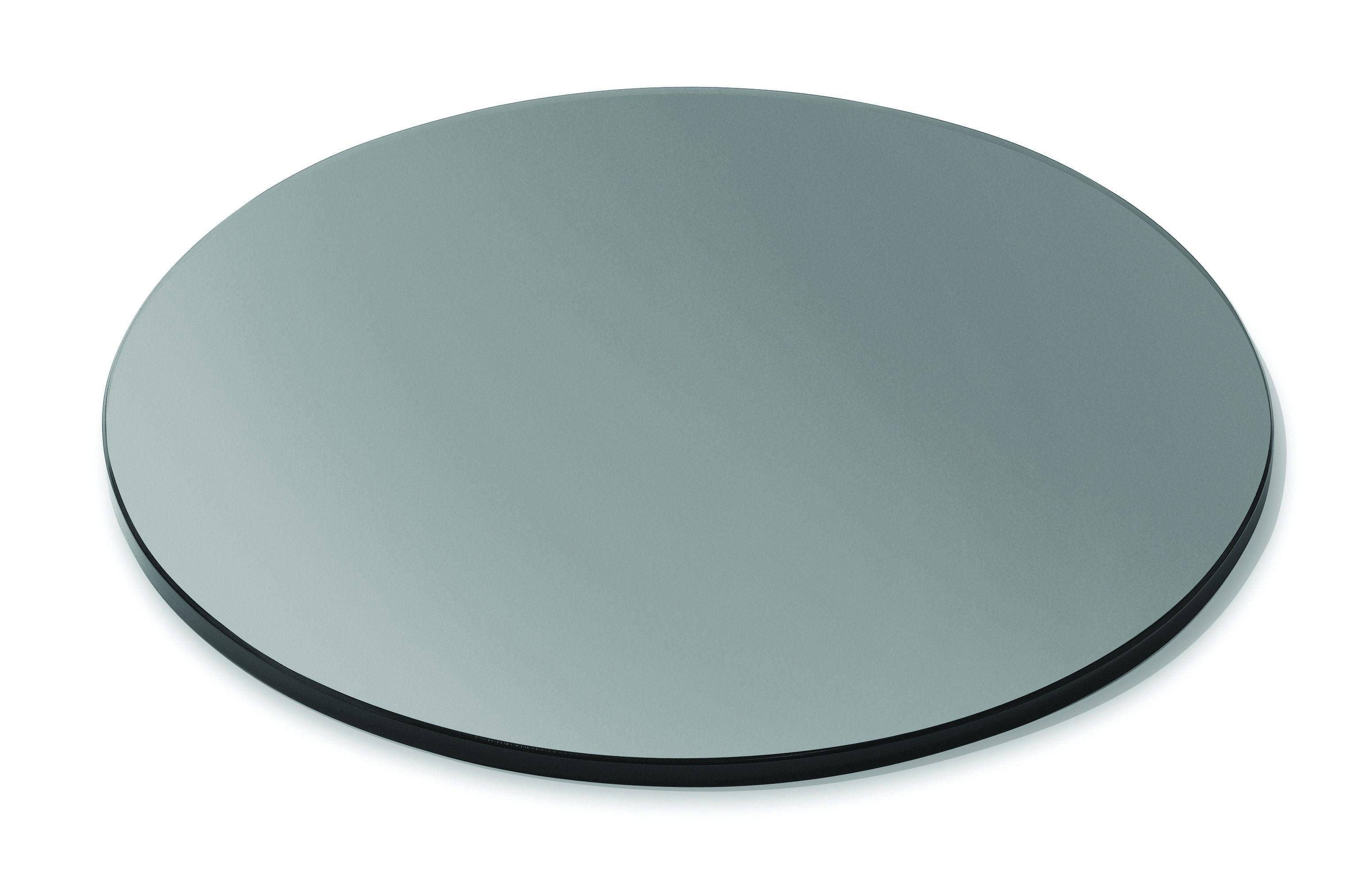 """Rosseto SG024 Round Black Acrylic Surface 14"""" x 14"""""""