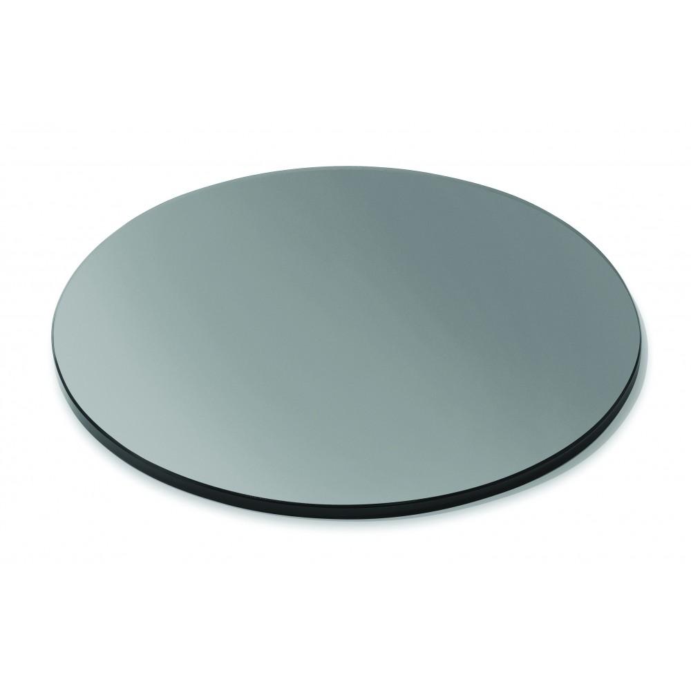 Round Display Surface Black Acrylic - 20