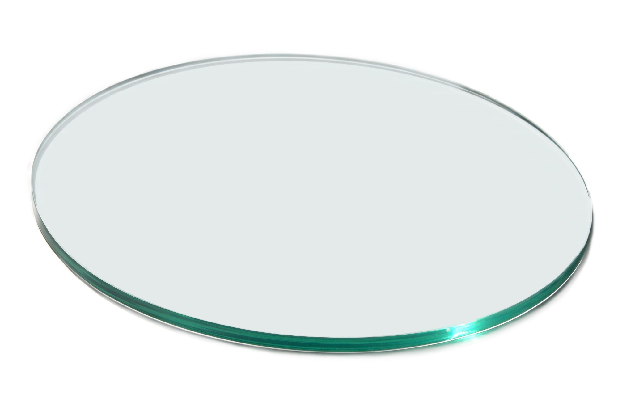 "Rosseto SG023 Round Clear Acrylic Surface 14"" x 14"""