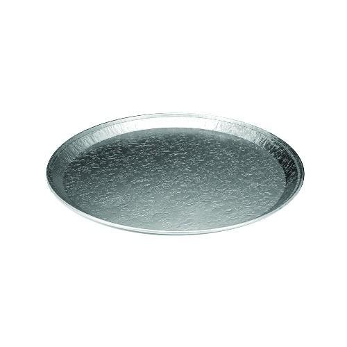 Round Embossed Aluminum Serving Trays 16