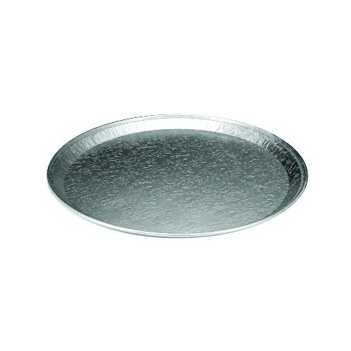 Round Embossed Aluminum Serving Trays 12
