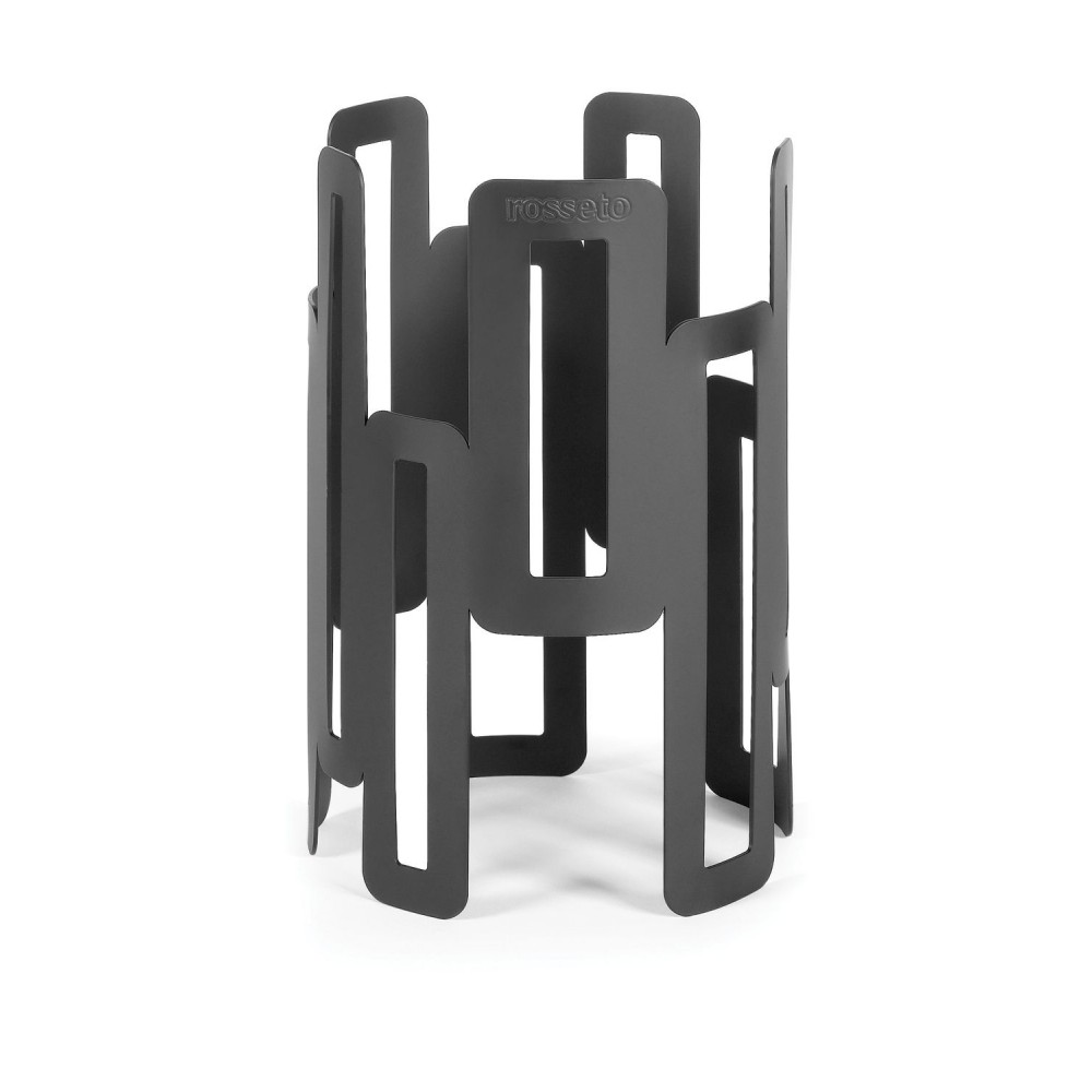Round Riser�Black Matte Powder Coated Steel Finish- 6.5