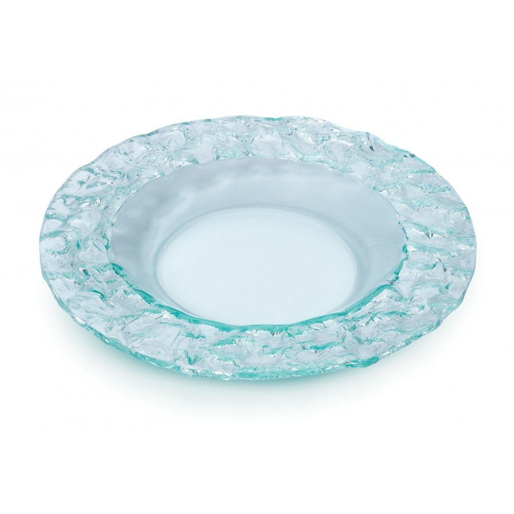 "Rosseto PPC12G Round Green Acrylic 12"" Serving Platter"