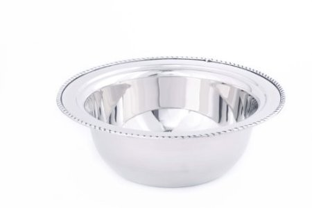 Round Stainless Steel Food Pan for #681, 3 Qt.