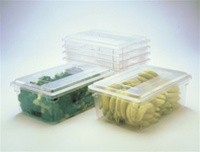Rubbermaid Food Tote Box, Clear, 16.5 Gallons