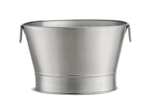"TableCraft BT21 Stainless Steel Beverage Tub, 20"" x 12-1/4"""