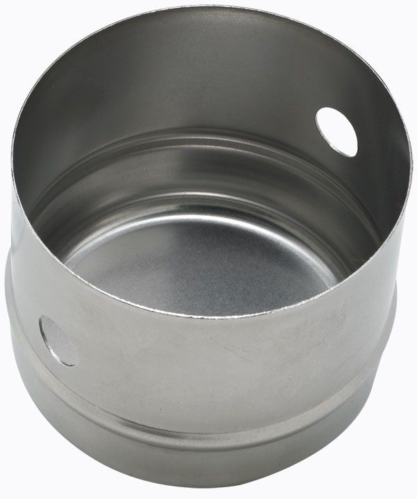 """Winco CC-1 Stainless Steel Cookie Cutter, 3"""" Dia. x 2-1/2"""" Deep"""
