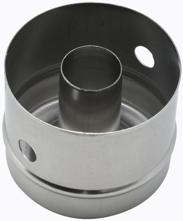 "Winco CC-2 Stainless Steel Doughnut Cutter, 3"" Dia. x 2-1/2"" Deep"