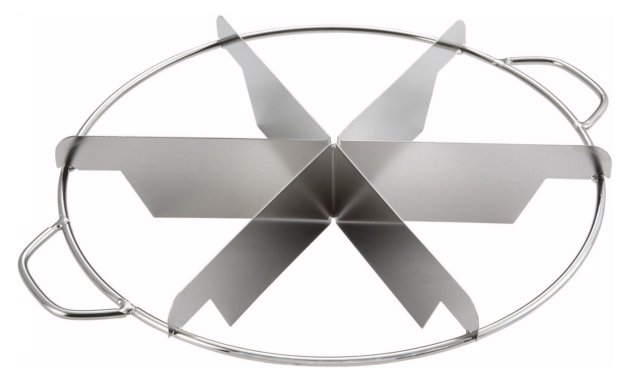 Winco SCU-6 6-Cut Stainless Steel Pie Cutter
