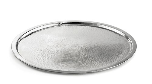 TableCraft RPD21 Round Stainless Steel Tray 21""