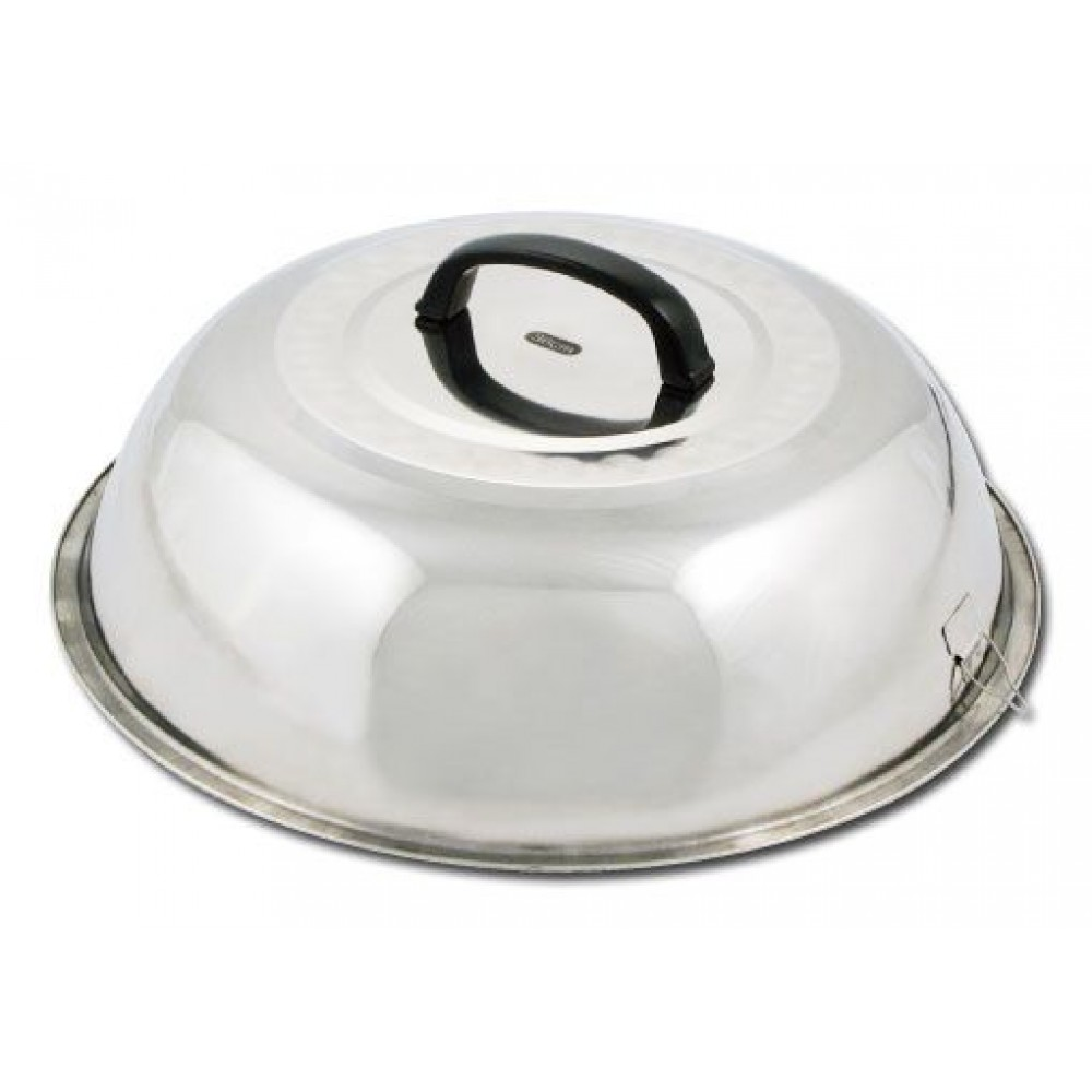 Winco wkcs-14 Stainless Steel Wok Cover 13-3/4""