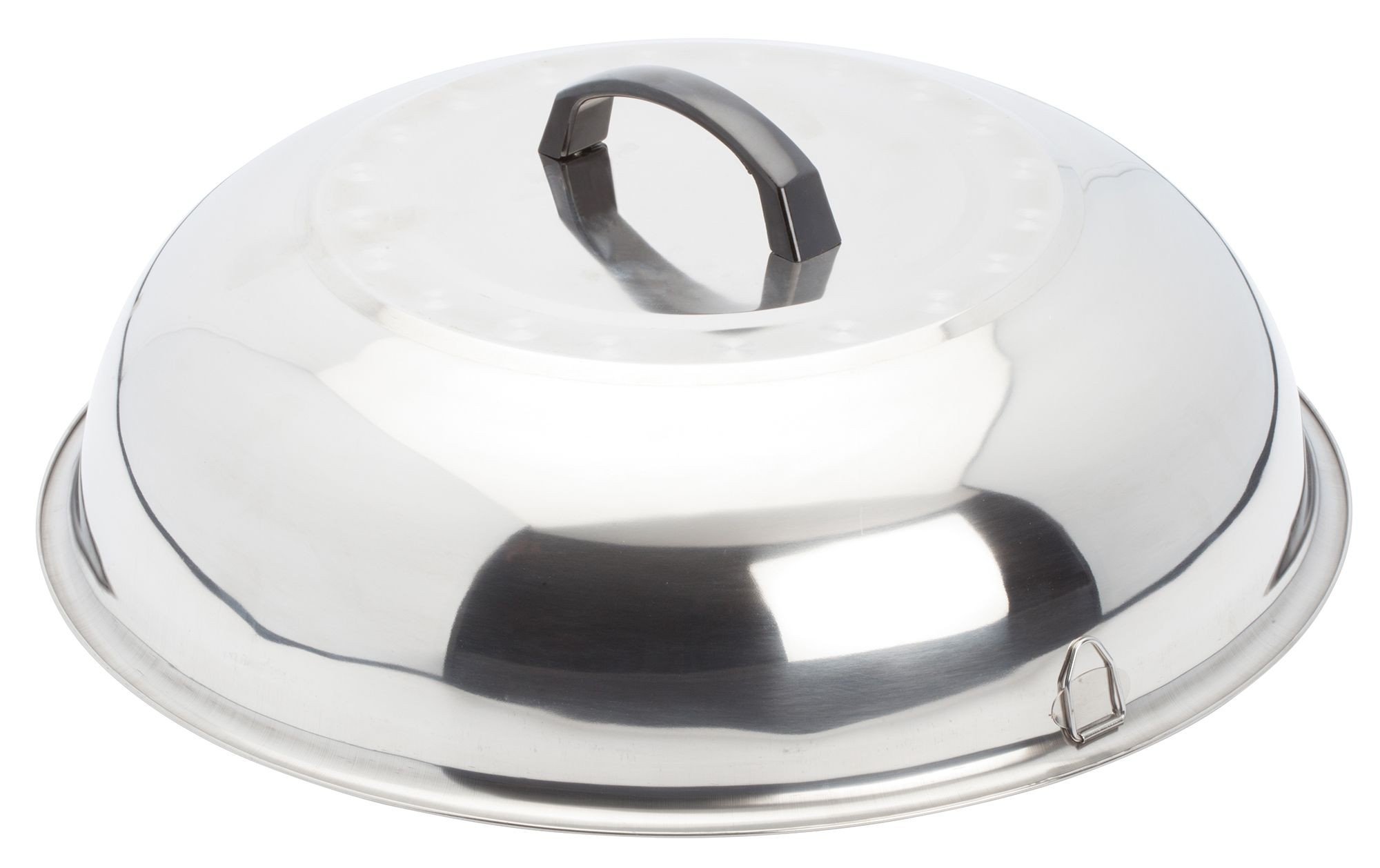 Winco WKCS-15 Stainless Steel Wok Cover 15-3/8""