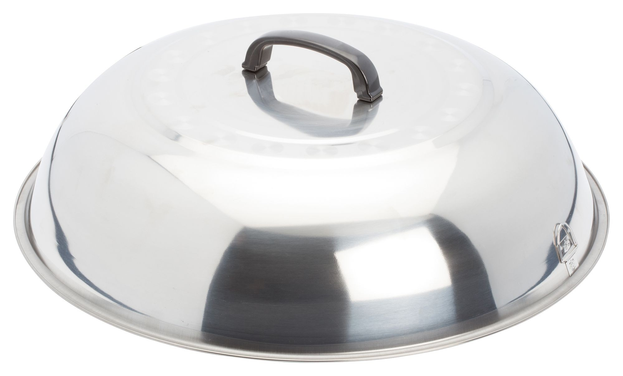 Winco WKCS-18 Stainless Steel Wok Cover 17-3/4""