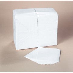 SCOTT 1/4-Fold Luncheon Napkins, 1-Ply, 12 x 12, White, 1,000/Bag