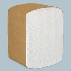 SCOTT Full-Fold Dispenser Napkins, 1-Ply, 13 x 12, White, 375/Pack