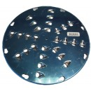 """Johnson-Rose 6103 Stainless Steel Shredding Disc, 1/2"""", for #6100, for Lettuce"""