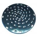 """Johnson-Rose 6105 Stainless Steel Shredding Disc, 1/4"""", for #6100, for Soft Cheese"""