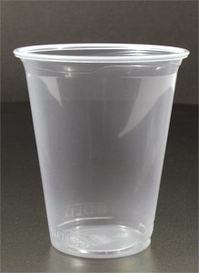 SOLO 14OZ Clear Plastic Cup Polyprop Reveal