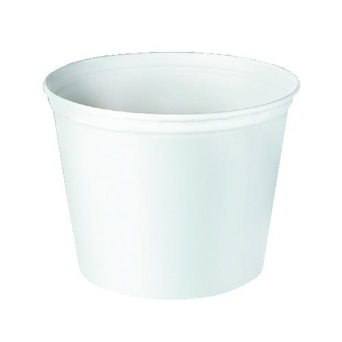 SOLO 165 Oz Paper Bucket, Double Wrapped, Unwaxed