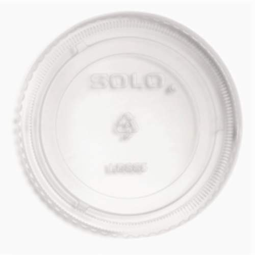 SOLO Clear Lid Fits 2.5 Oz Container
