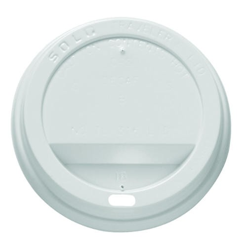 SOLO White Traveler Lid (1M)For 10Sq/12/16/20/24