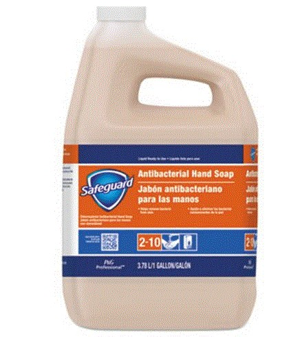 Safeguard Antibacterial Hand Soap, 1 Gallon Bottles