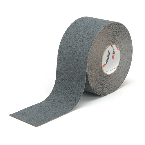 Safety Walk Medium Resiliant Tread Rolls, Gray, 2