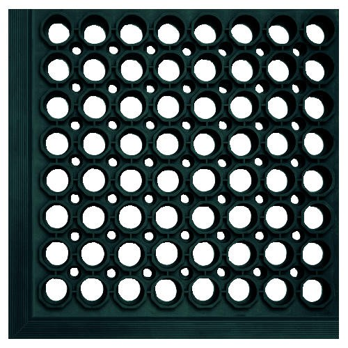 Safewalk-Light Mat, 3' X 5', Black