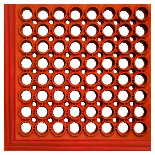 Safewalk-Light Mat, 3' X 5', Terra Cotta