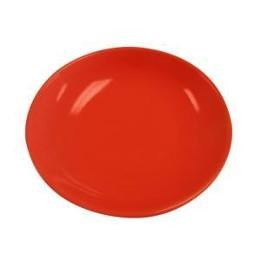 Salad Pasta Bowl Red 48oz.,10 1/2