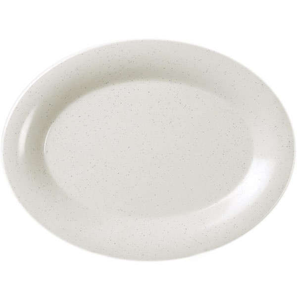 San Marino Melamine Oval Platter - 14