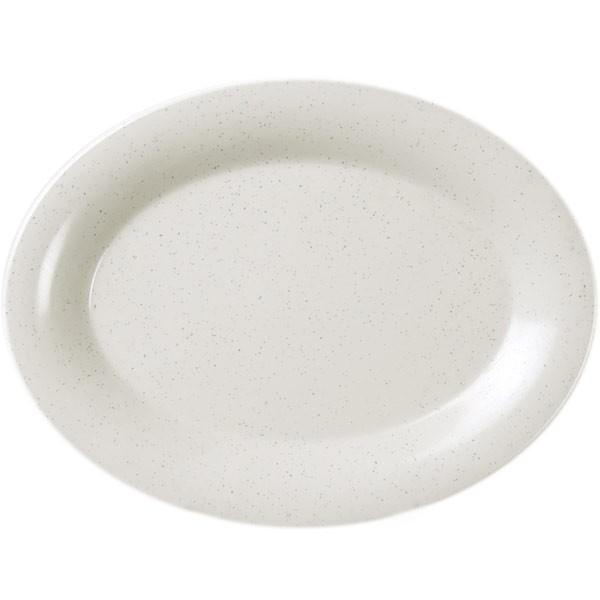 San Marino Melamine Oval Platter - 16 1/4
