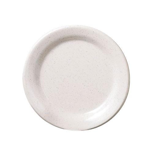 "Thunder Group AD107WS San Marino Melamine Round Dinner Plate 7-1/2"""