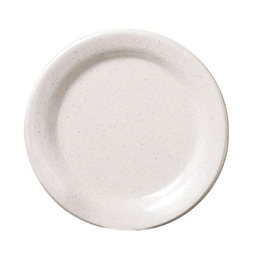 "Thunder Group AD109WS San Marino Melamine Round Dinner Plate 9"""