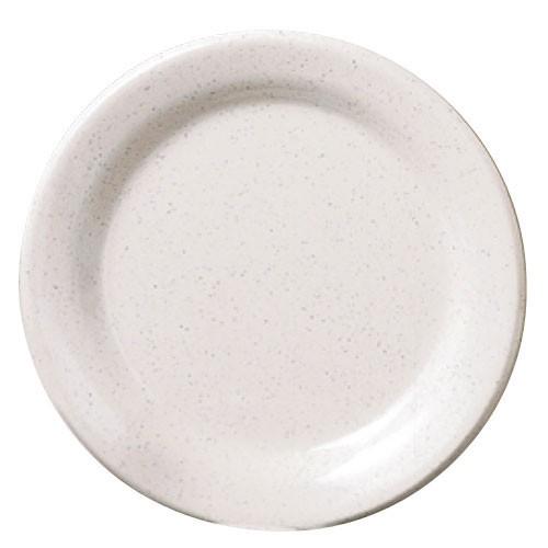 "Thunder Group AD110WS San Marino Melamine Round Dinner Plate 10"""