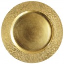 "Jay Import 1182760 Sand Gold Melamine 13"" Charger Plate"