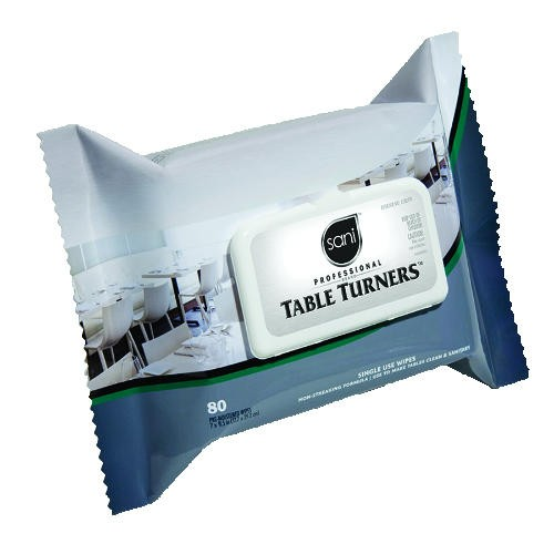 Sani-Professional Brand TableTurners Wipes (in disposable packet)